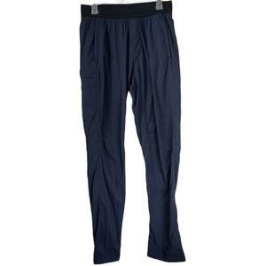 Lululemon Small blue pinstripe dance jogger pants